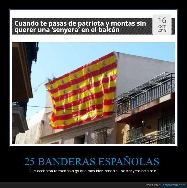 banderas,cataluña,españa,fails,senyera