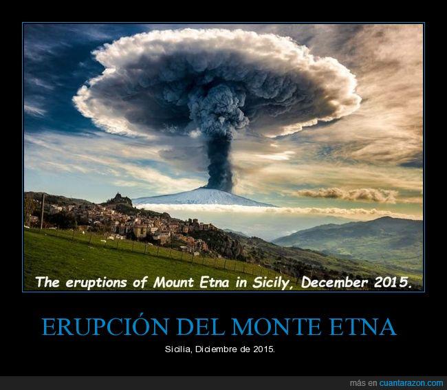 erupción,etna,volcán