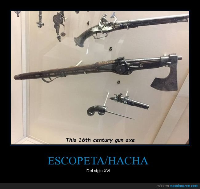 arma,escopeta,hacha