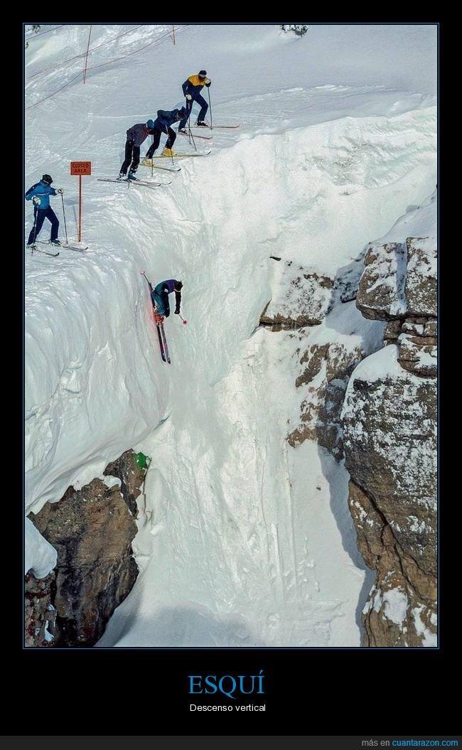 esquí,vertical,wtf