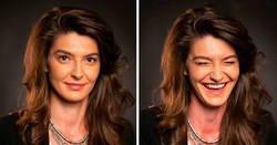 Enlace a Personas son fotografiadas antes y después de ver a sus seres queridos mostrando así la cara del amor verdadero