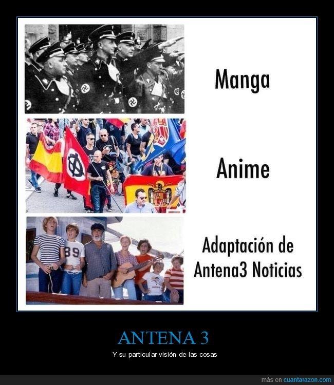 anime,antena 3,manga,nazis,verano azul