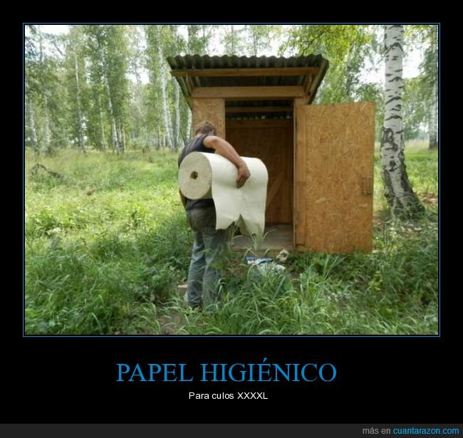 gigante,papel higiénico,reponiendo