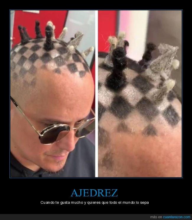 ajedrez,corte de pelo,wtf