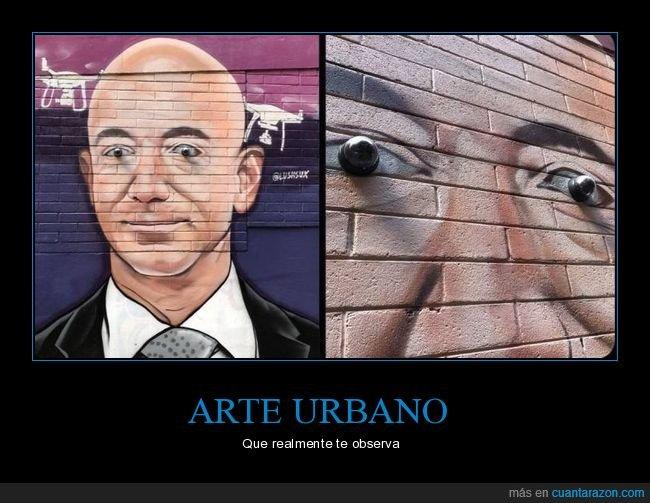 arte urbano,cámaras,ojos