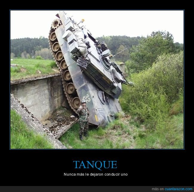fails,soldado,tanque