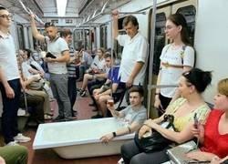 Enlace a Un día normal en el metro