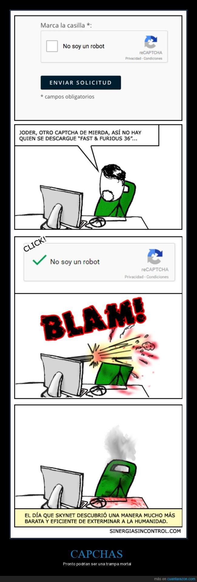 capcha,robot,skynet