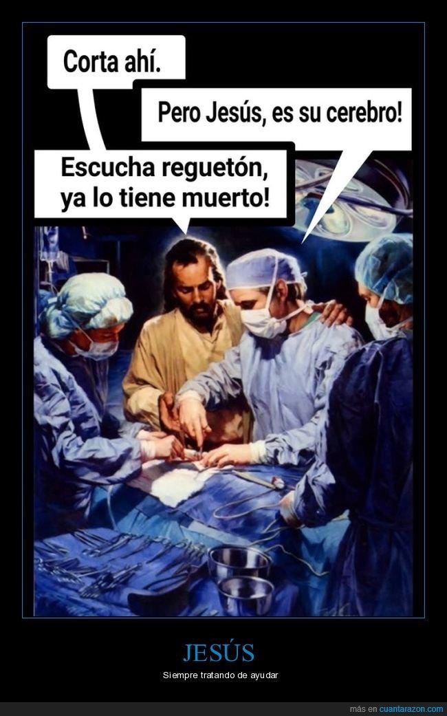 cerebro,cortar,jesús,médicos,muerto,operación,reggaetón,yisus