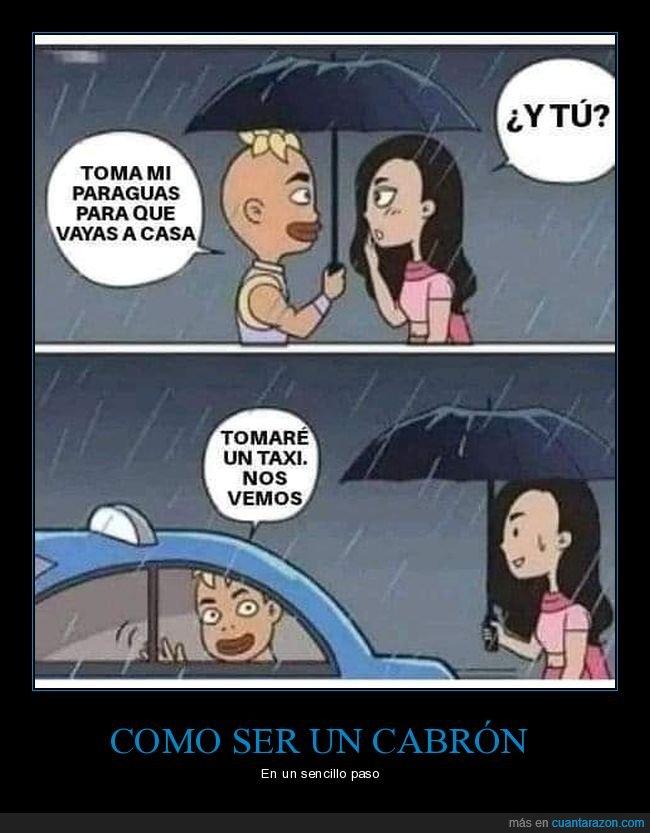 lluvia,paraguas,taxi