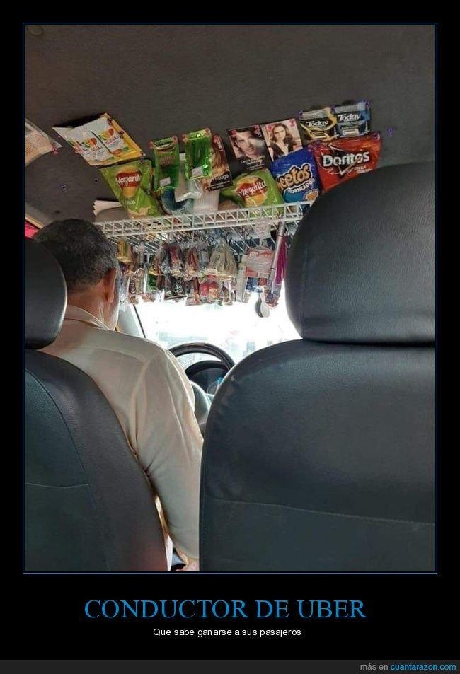 comida,conductor,uber