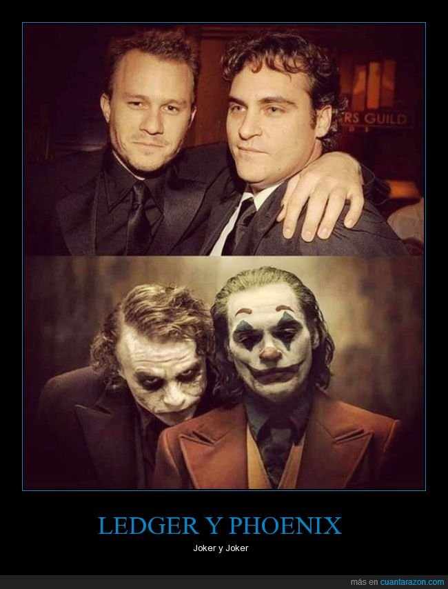 heath ledger,joaquin phoenix,jokers