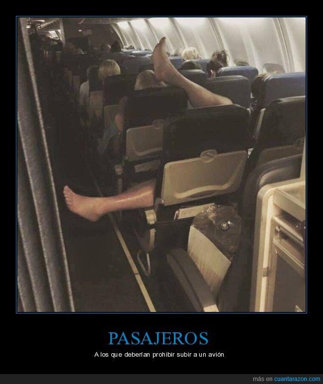 avión,pasajero,postura