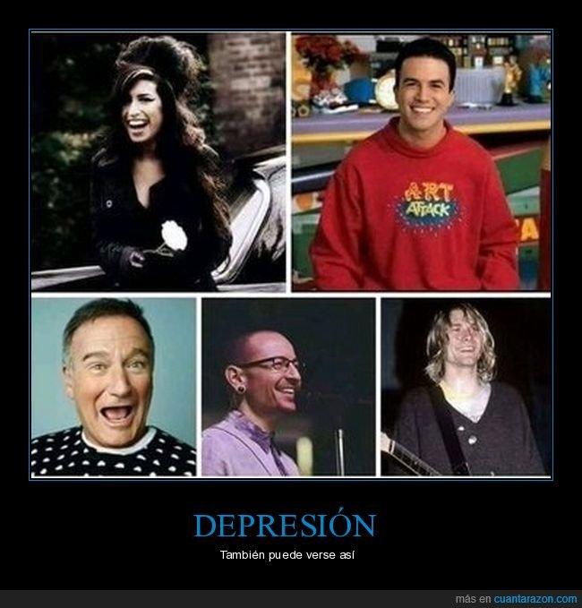 caras,depresión,sonrisas