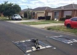 Enlace a Cuidado con la velocidad en esta calle