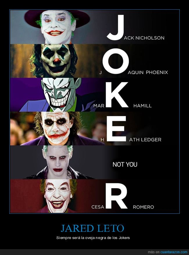 jared leto,joker,jokers