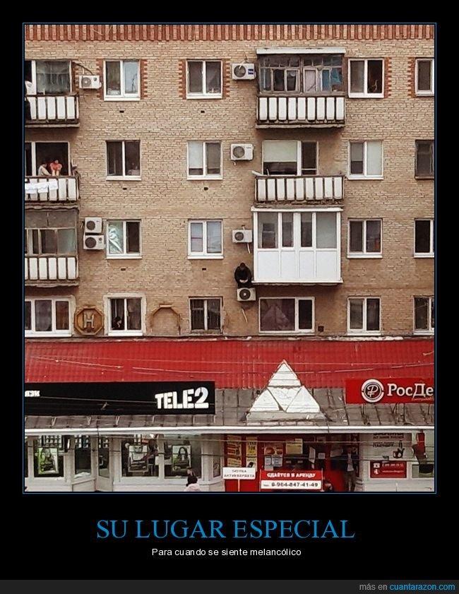 aire acondicionado,edificio,rusos,wtf