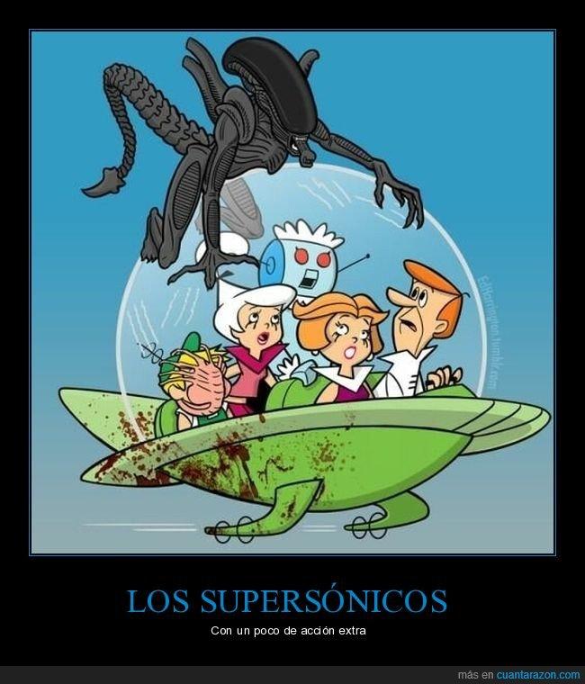 alien,supersónicos