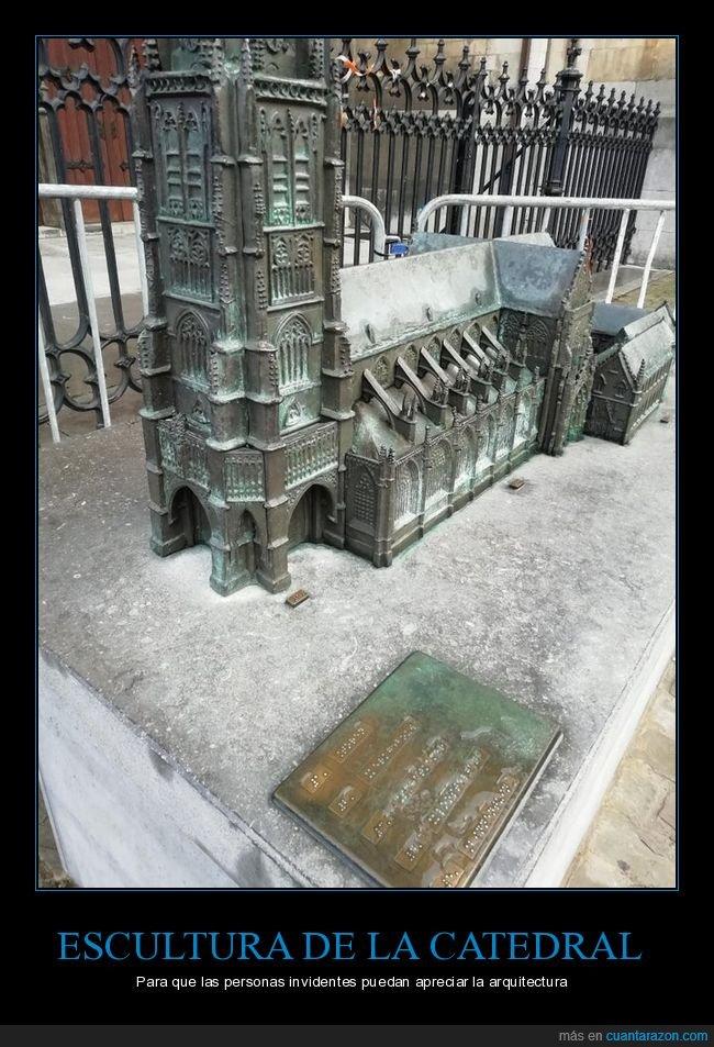 arquitectura,catedral,ciegos,escultura