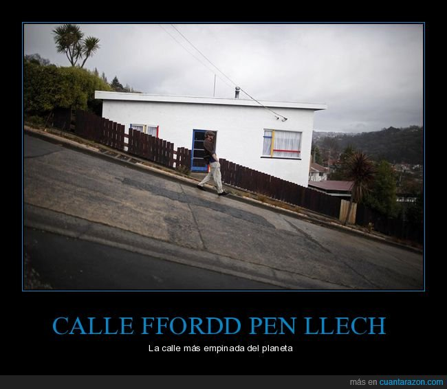 calle,empinada,ffordd pen llech