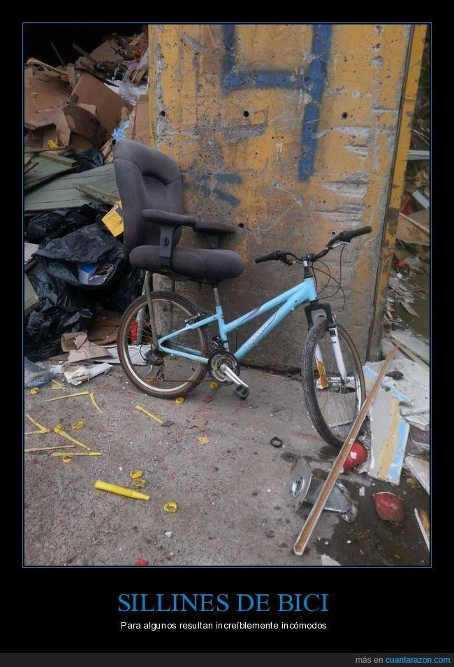 bicicleta,silla,sillín