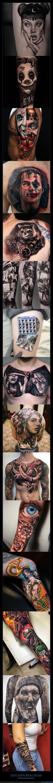 realistas,tatuajes
