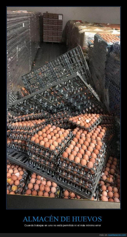 almacén huevos,fails
