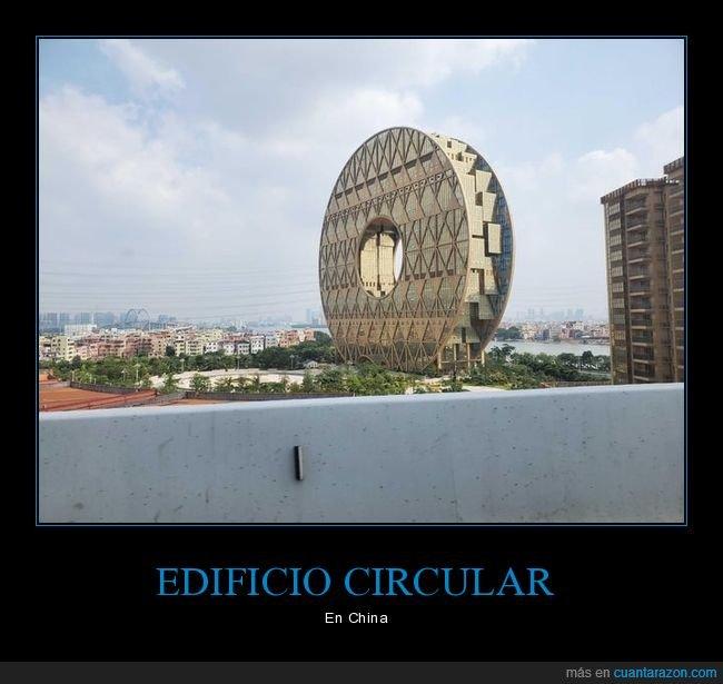 china,circular,edificio