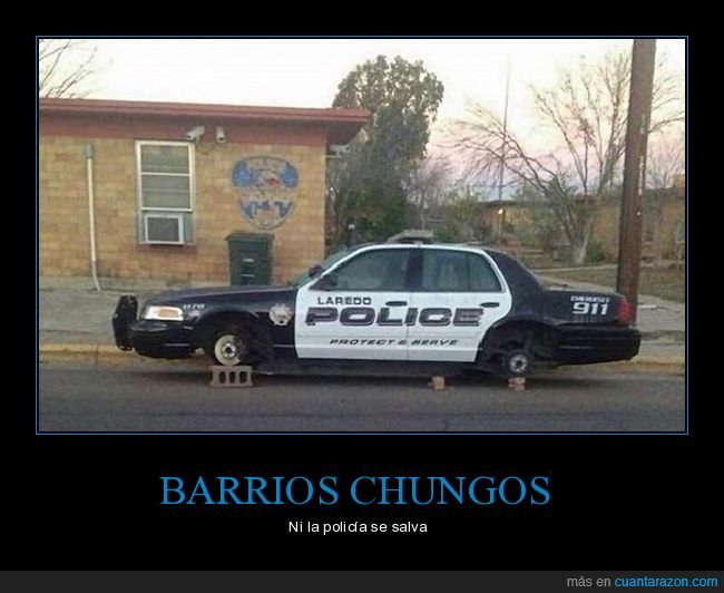 coche,policía,robo,ruedas