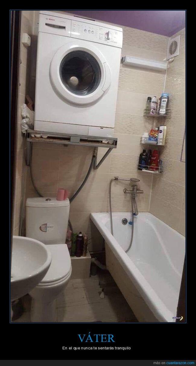 aseo,lavadora,váter,wtf