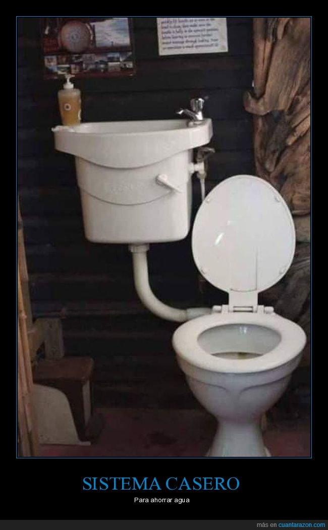 agua,ahorrar,aseo,lavabo,váter