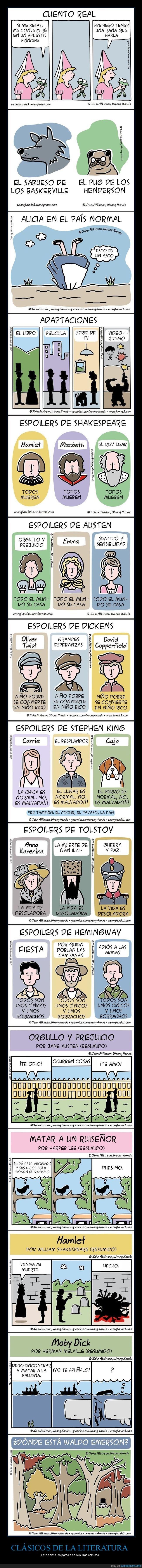 clásicos,literatura,viñetas
