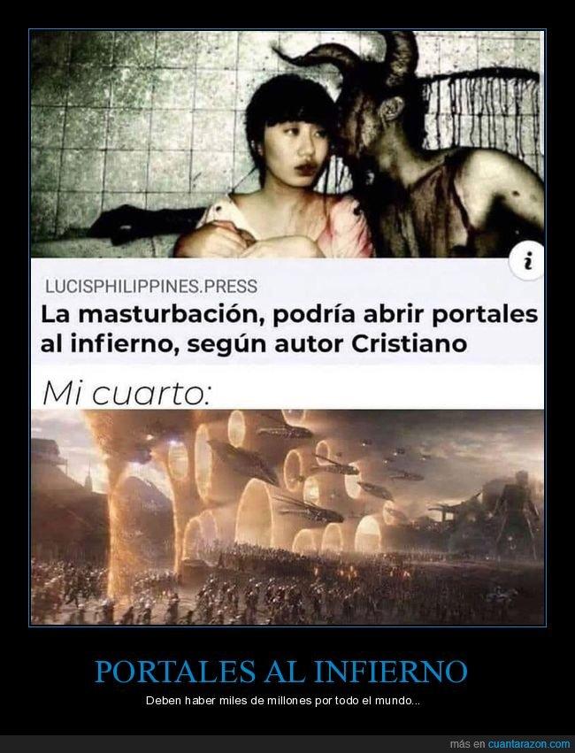 cristiano,infierno,portales