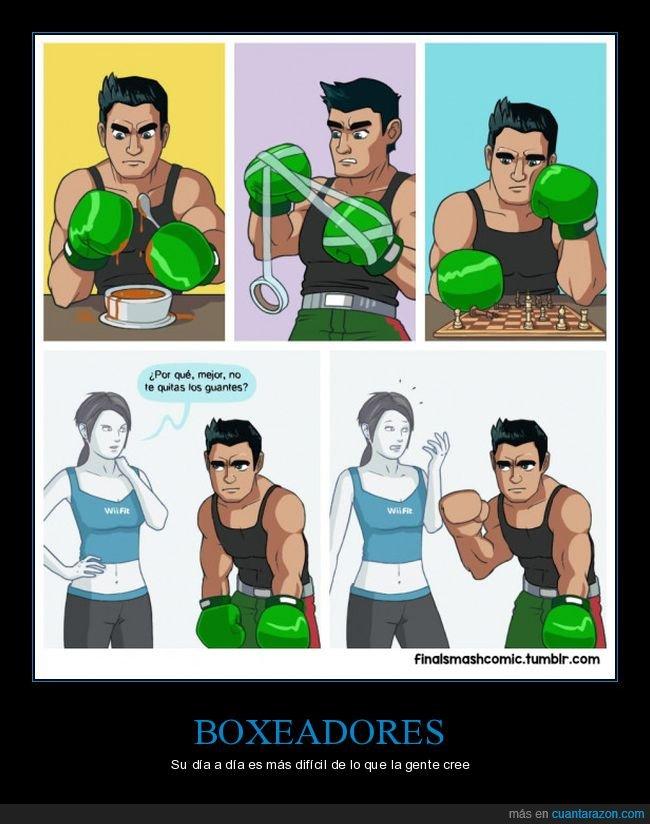 boxeador,manos