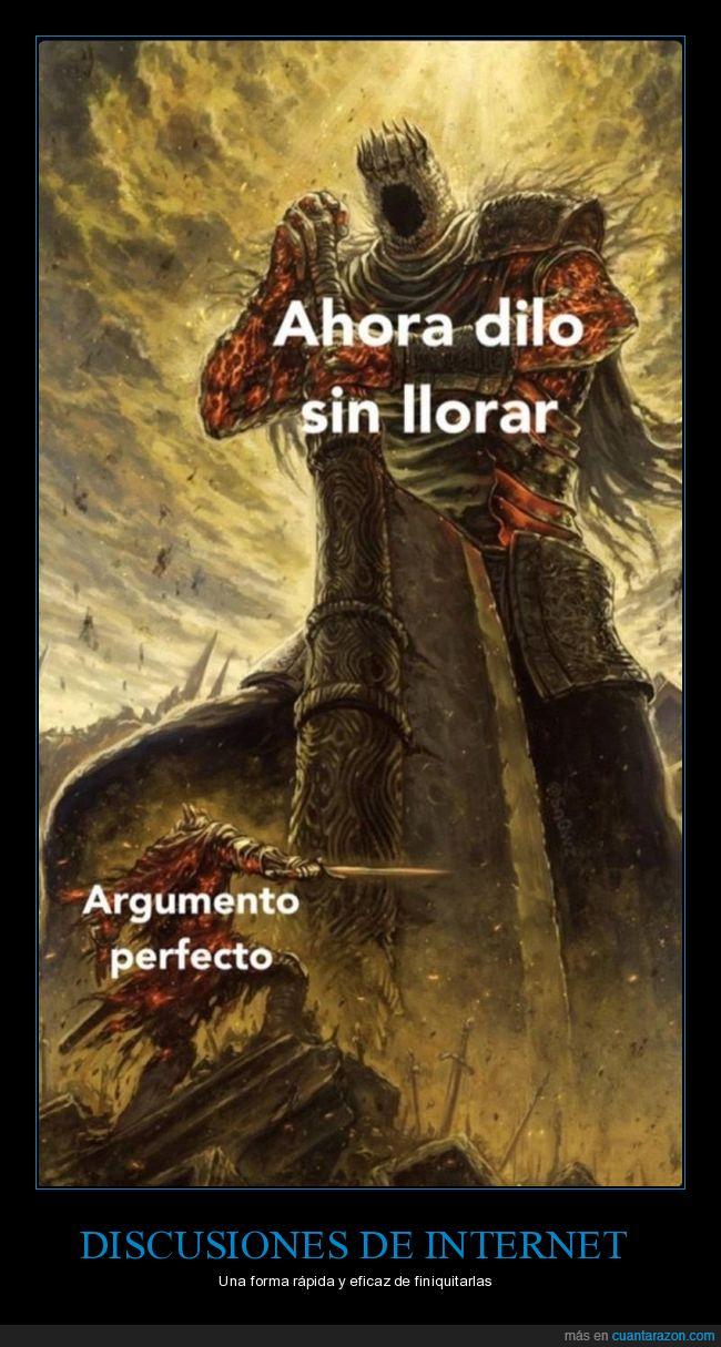 argumento,decir,perfecto,sin llorar