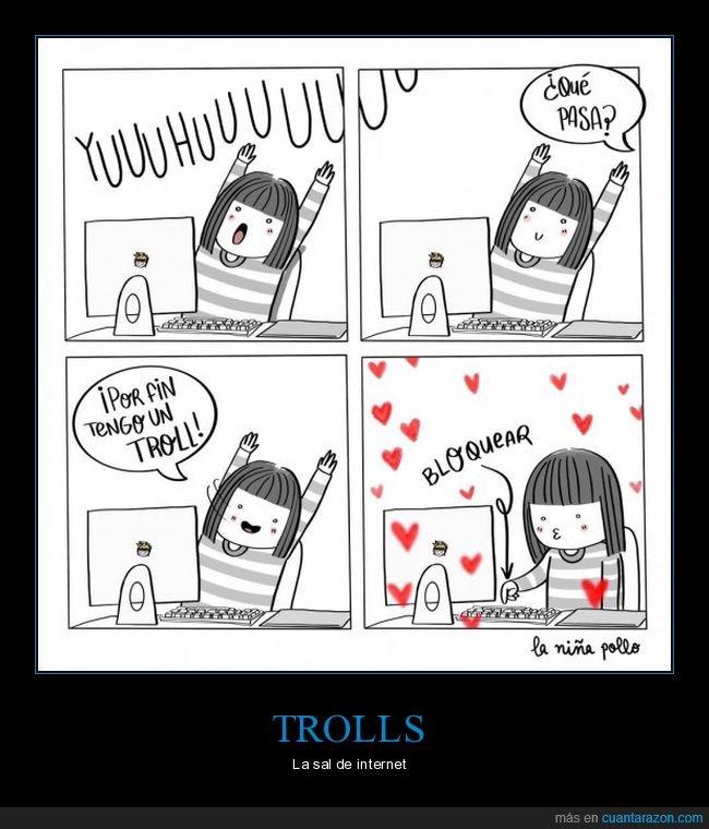 bloquear,internet,troll