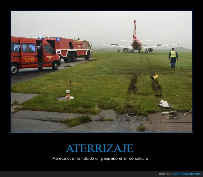 aterrizaje,avión,fails