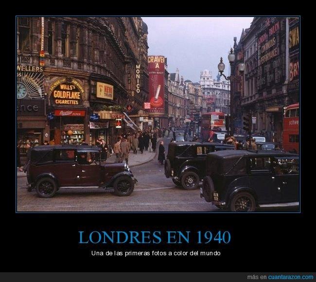 1940,color,foto,londres,retro