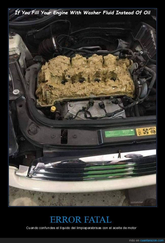 aceite,coche,fails,limpiaparabrisas,motor