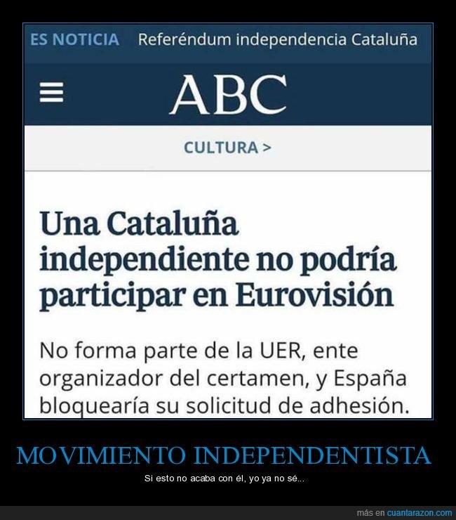 cataluña,eurovisión,independencia