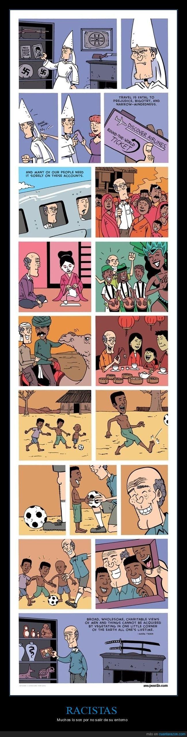 racismo,viajar