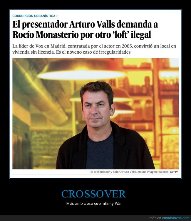 arturo valls,crossover,ilegal,loft,políticos,rocío monasterio,vox