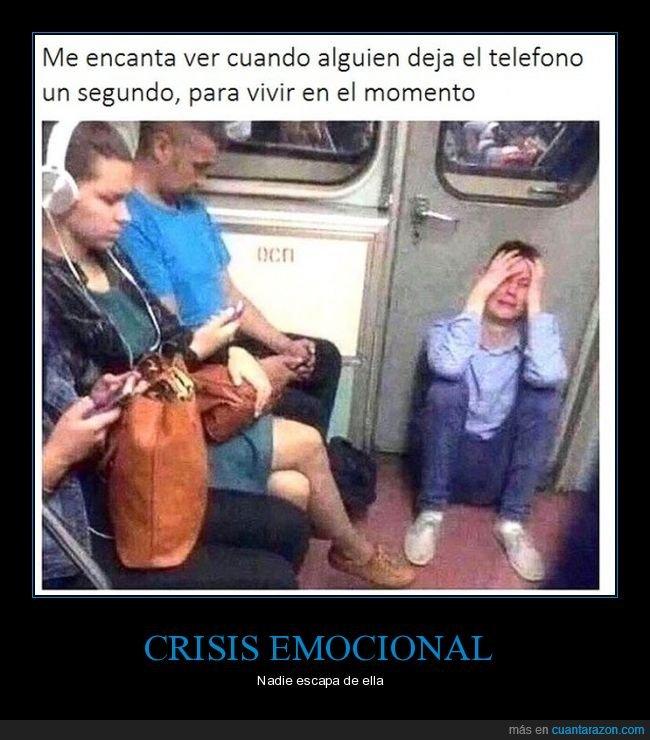 crisis,dejar,momento,móvil,vivir