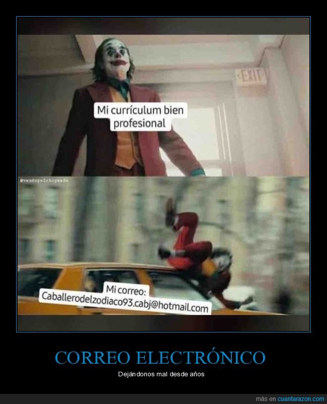 currículum,email,joker