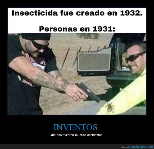araña,insecticida,inventarse,pistola