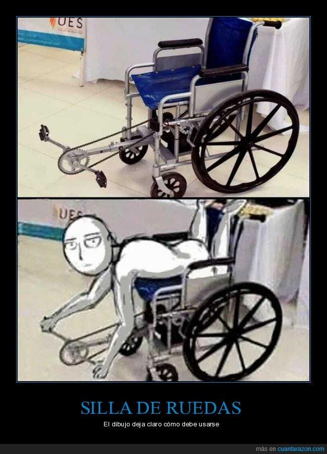 pedales,silla de ruedas,wtf