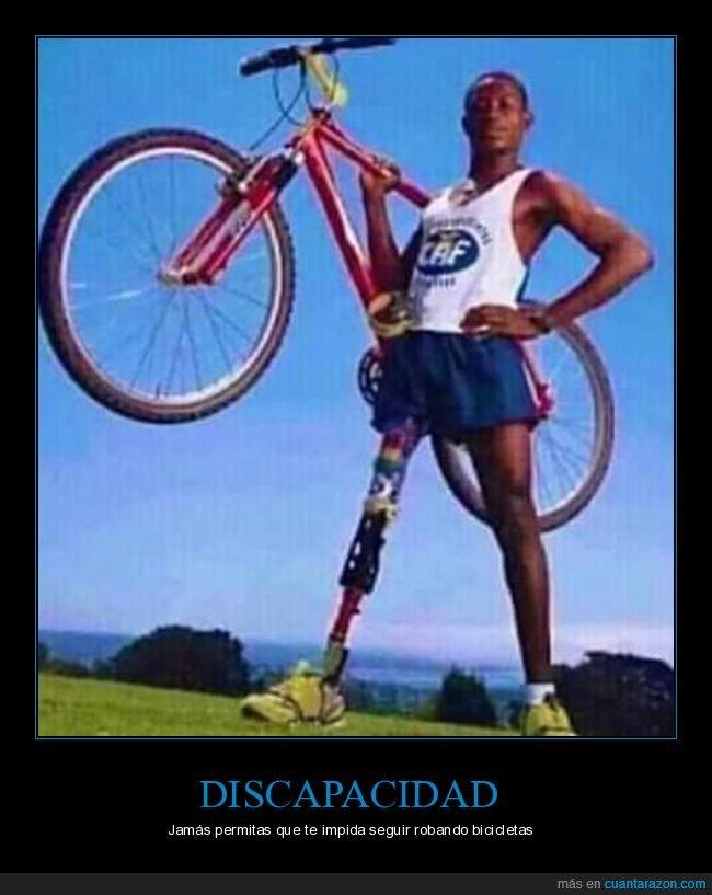 bicicletas,discapacidad,robar