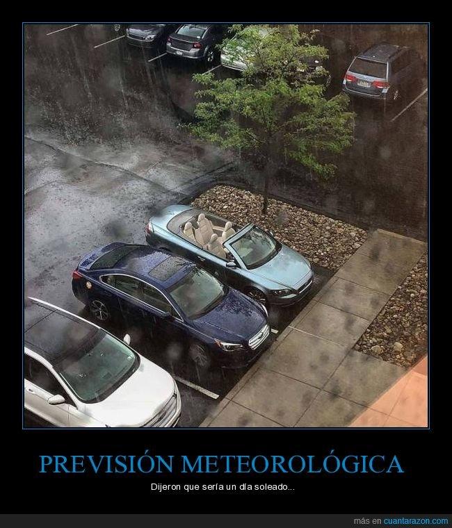 coche,descapotable,fails,lluvia