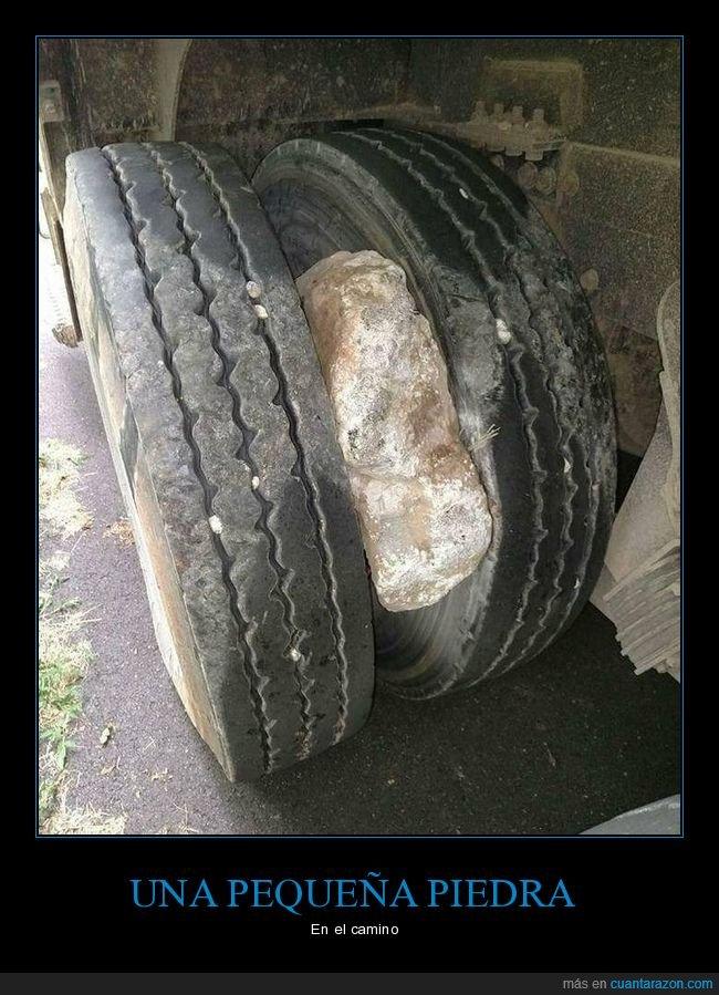 piedra,ruedas,wtf
