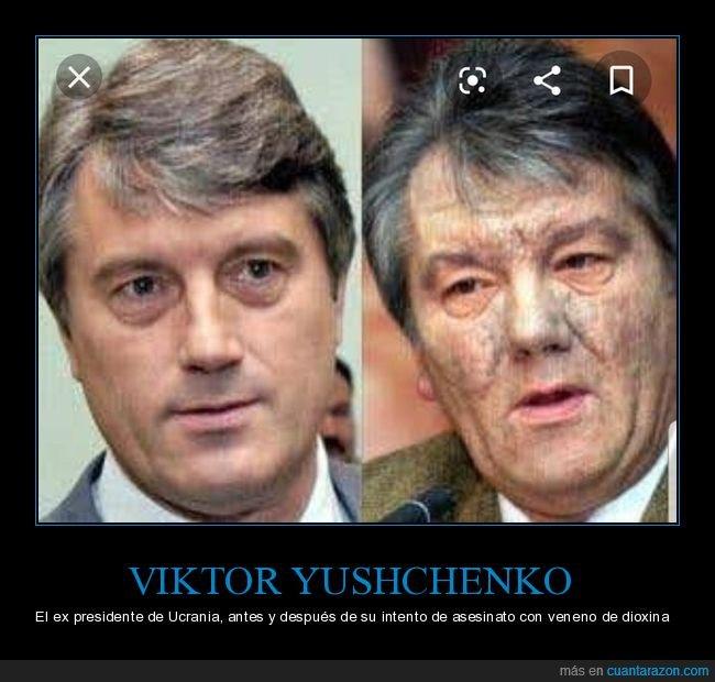 dioxina,ex presidente,intento de asesinato,ucrania,veneno,viktor yushchenko